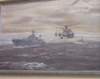 Корабли и пейзажи Алексея Морозова