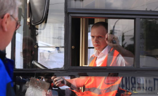 Лучшие водители самой троллейбусной страны мира