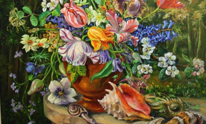 Картины Елены Сальниковой - яркие и незабываемые.
