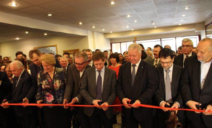 Михаил Шмаков вместе с другими гостями открывает театрально-концертный комплекс имени композитора Андрея Петрова
