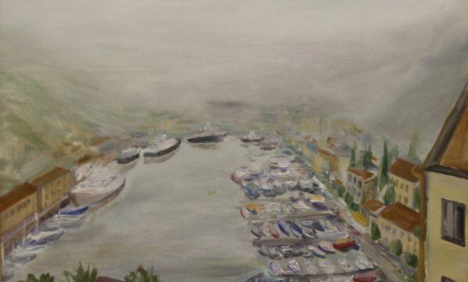 Крым бывает и таким. Ильдус Вахитов. Туман над Балаклавой (фрагмент).