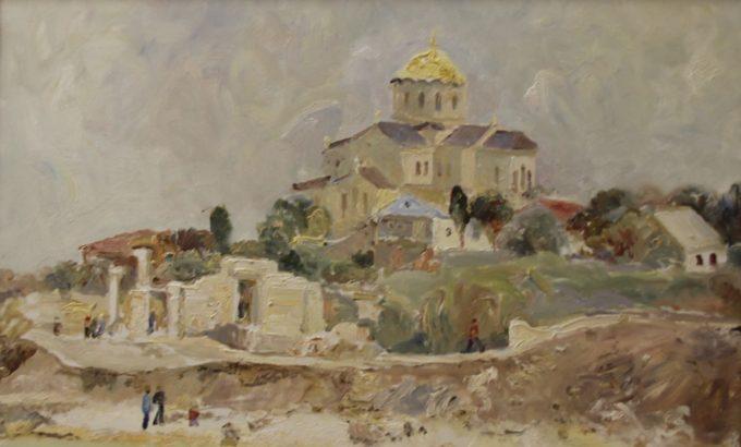 Фрагмент одой из картин Василия Гусарова