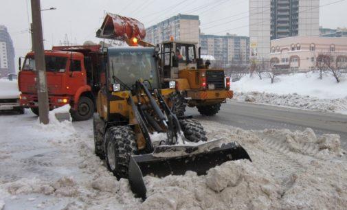 Битва со снегом в «усиленном режиме»