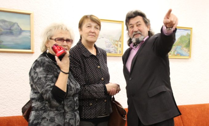 Ильдус Вахитов рассказывает о своих работах.