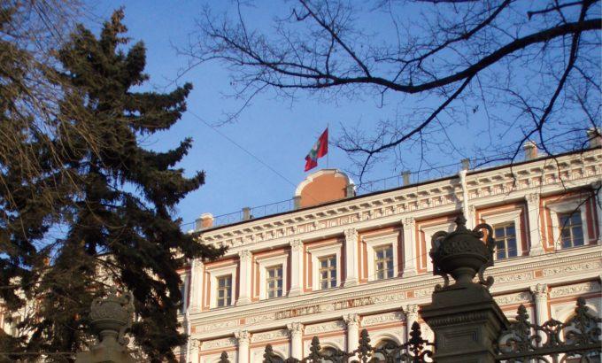 Дворец Труда - штаб-квартира Ленинградской Федерации профсоюзов (ЛФП)
