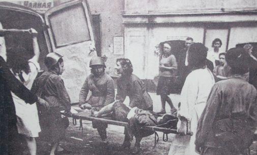 Ленинградская «скорая» в кольце