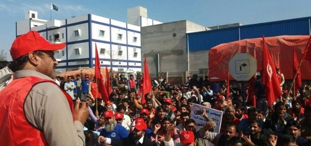 Пакистан: работники PepsiCo вышли на демонстрацию