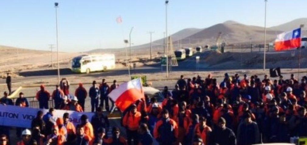 Чили: шахтеры начали забастовку