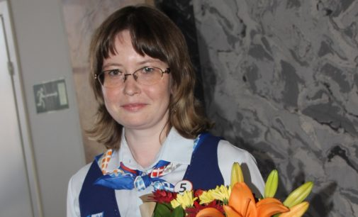«Лицо» петербургской почты работает в Петергофе