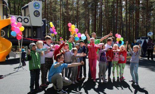 «Восток-6»: новая детская площадка в стиле «космос»