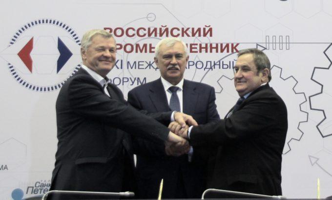 Подписание соглашения о МЗП в Санкт-Петербурге