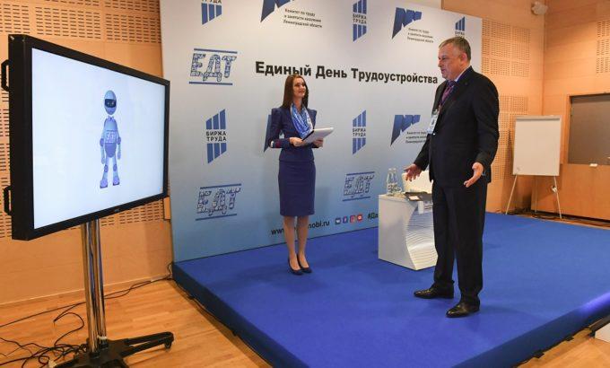 Александр Дрозденко открывает Единый день трудоустройства на «Nokian Tyres» во Всеволожске