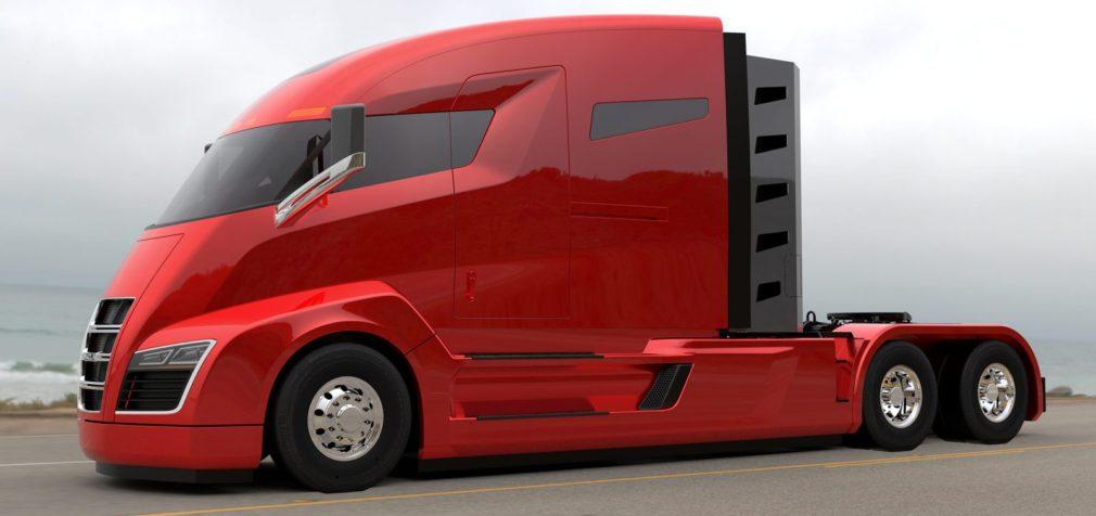 США: электрический тягач — «гоночная» скорость и автопилот