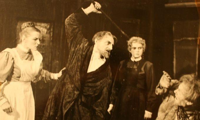 Так было: Одна из пьес Максима Горького в постановке Народного театра, - ныне не существующего, увы, - коллектива ДК