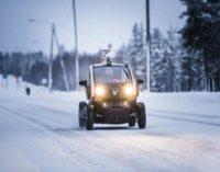 Финляндия: автобус-беспилотник выходит в тундру