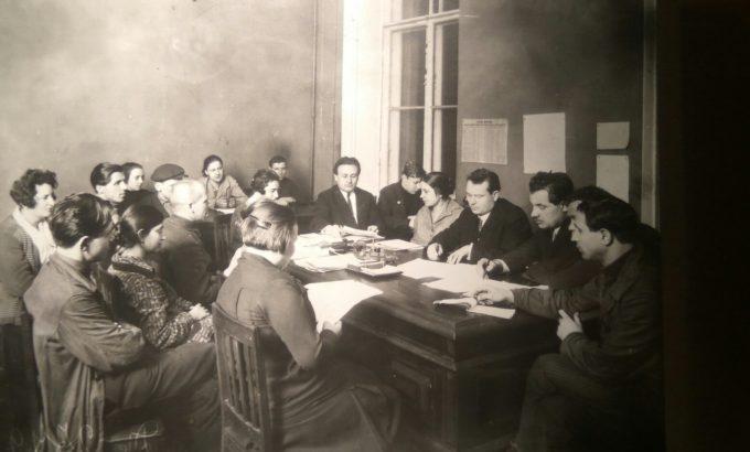 Заключение коллективного договора во Дворце Труда
