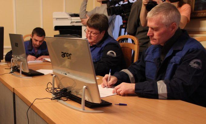 Первый экзамен в ЦОК на базе Межрегионального профсоюза работников жизнеобеспечения СПб и ЛО
