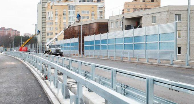 Поклонногорский путепровод разгрузит север Петербурга