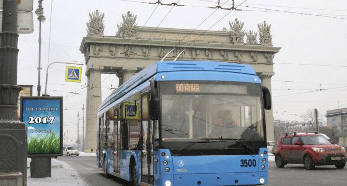 Петербург переходит на «безвыбросный транспорт»