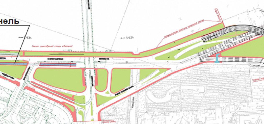 Синопская набережная: выделенная полоса для трамваев и тоннель для автомобилистов