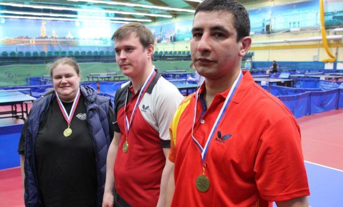 Победители: Ольга Родионова, Сергей Борисов и Максим Коваль