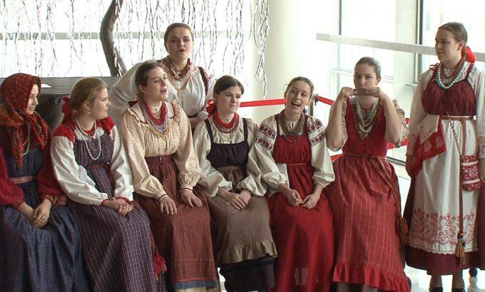 Фольклорный ансамбль СПб консерватории. Концерт в Мариинском театре.