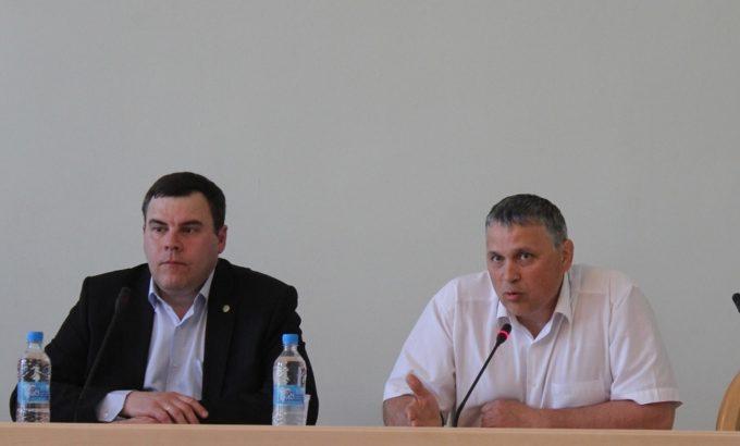 Сергей Марченко и Андрей Голобородько.