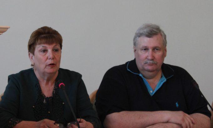 Галина Нестерова и Александр Алексеев.