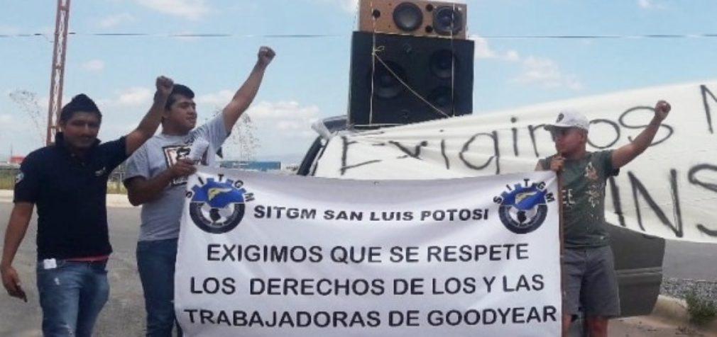 Мексика: рабочие Goodyear продолжают борьбу