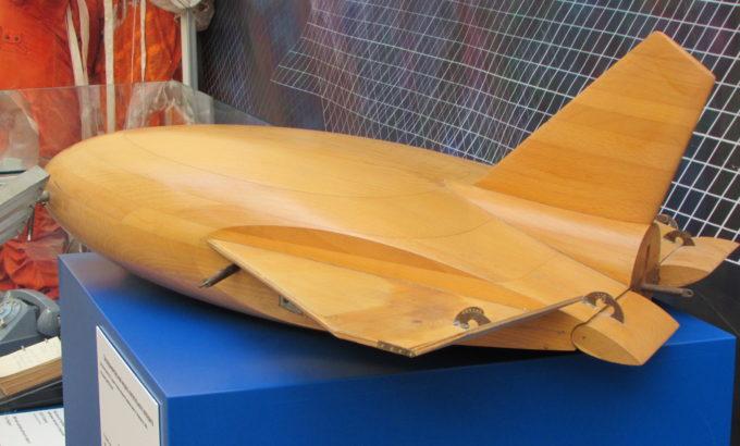 Макет орбитального самолета. Дипломный проект Ю.А. Гагарина