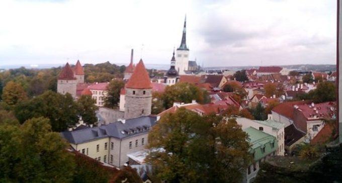 Эстония: 1000 водителей заглушили моторы