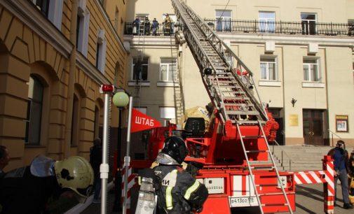 Учебный пожар в «Выборгском»: всем спасибо, все готовы!