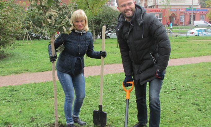 Ирина Щепкина и Семен Тураев