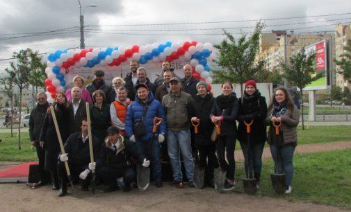 Профсоюзный подарок к юбилею: наглядно и экологично