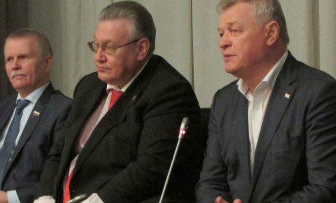 Сергей Пантелеев, Сергей Мовчан и Владимир Дербин