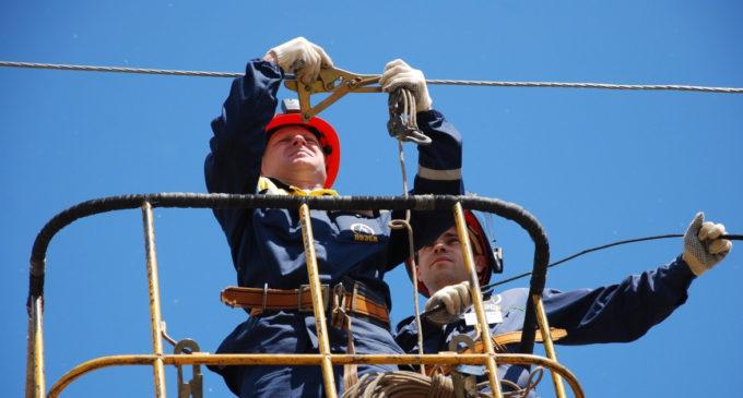 «Пригородные электрические сети»: работаем на высоте!