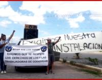 Мексика: солидарность с рабочими Goodyear