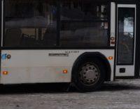 … Когда автобус идет юзом