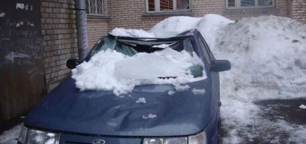 Автомобилистов «подстерегают» сосульки и гололед