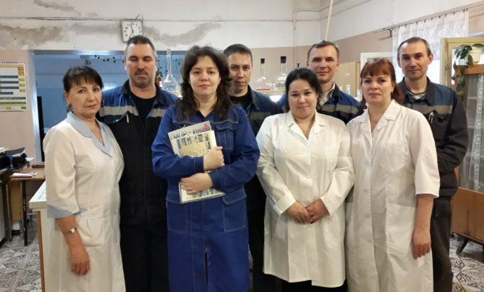Елена Луковицкая с коллегами