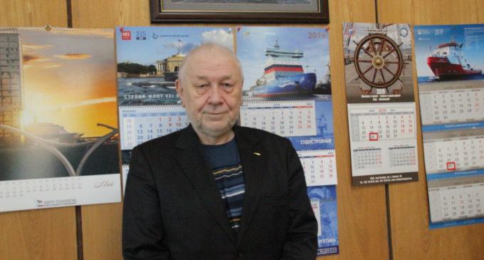 Борис Дубровин: в море, в КБ и в профкоме
