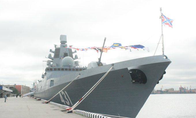 Фрегат «Адмирал Касатонов» на МВМС-2019
