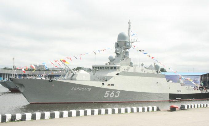 Малый ракетный корабль «Серпухов» на МВМС-2019