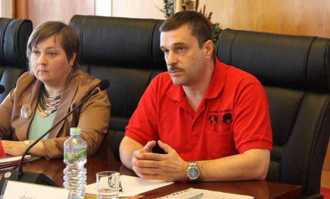 Галина Юрова и Дмитрий Исаревич