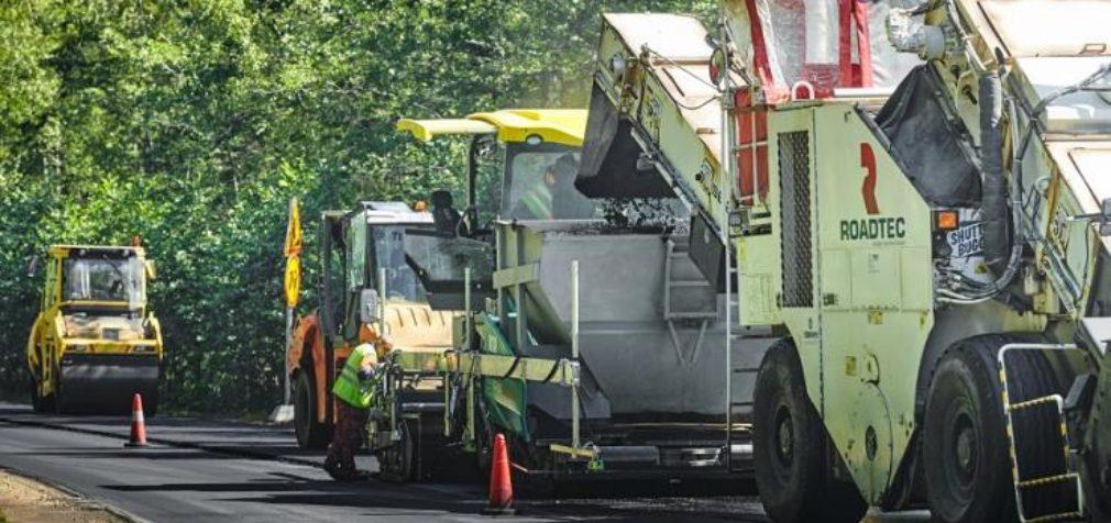 Новые технологии ремонта областных дорог