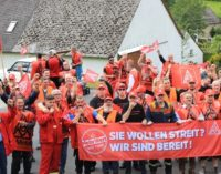 Германия: металлурги бастуют три месяца