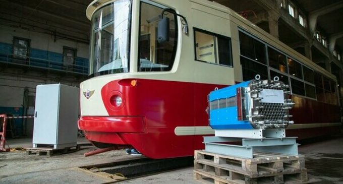 В Петербурге появился «водородный трамвай»