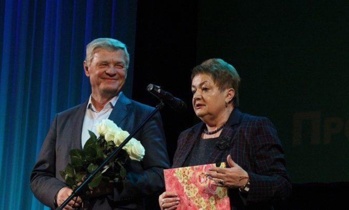 Владимир Дербин и Мария Гринник