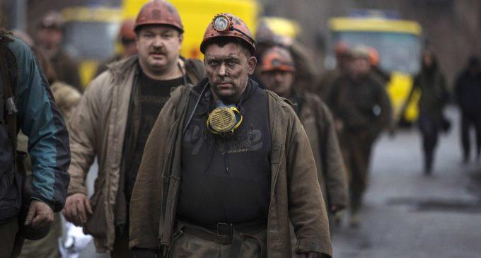 Украина: забастовка под землей