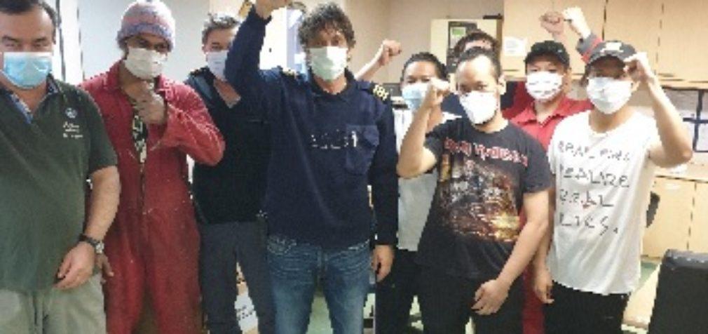 Австралия: моряки требуют возвращения на родину
